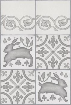 Decorative Wall Tile French Encaustic Decorative Wall Tile For Kitchen Bath And