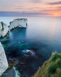 Old Harry Rocks, the Isle of Purbeck, Dorset.