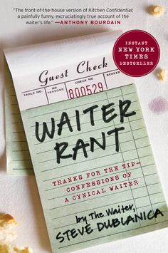 228 best college 101 images on pinterest livros book and books great deals on waiter rant by steve dublanica limited time free and discounted ebook deals for waiter rant and other great books fandeluxe Choice Image