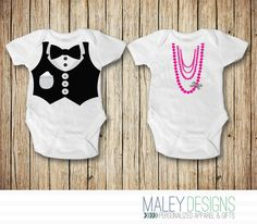 Twin Baby Clothes Twin Onesies® Twin Outfits Twin Baby Shower Twins Baby Gifts Matching Twin Outfits Sibling Set Brother Sister Outfits by MaleyDesigns on Etsy https://www.etsy.com/listing/225200235/twin-baby-clothes-twin-onesies-twin
