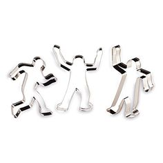 Gingerdead Men 3 Piece Cookie Cutter Set * If you love this, read review @ : Baking Accessories