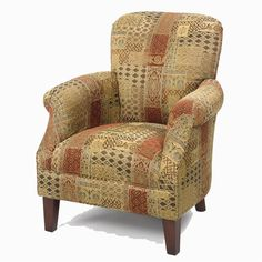 Wood Accent Chairs Wood Accents, Accent Chairs, Armchair, House Styles, Modern, Furniture, Decor Ideas, Home Decor, Upholstered Chairs