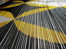 chainlink curtain by daisycake