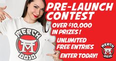 "Enter the ""Merch Dojo"" Contest to Win Over $10,000 in Prizes‼️Unlimited Free Entries... Enter Today!"