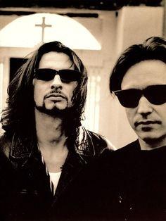 Dave Gahan and Alan Wilde / Depeche Mode.°