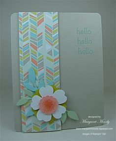 Made a variation of this design.  Card from Margaret Moody featured on Pals Paper Arts.