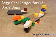 Lego Challenge:  Build Some Bugs!