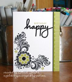 Mapleberry Musings: PTI 11th Anniversary Day 4: Floral Challenge
