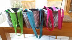 Standtaschen für meine Mutter  genäht