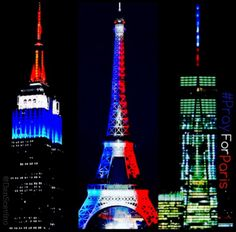 #StrandedInUS & #PorteOuverte are perfect examples of people from around the world UNITING. Beautiful. #PrayForParis.
