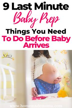 What last minute things do you need to do before baby arrives, here are things that need to get done you won't want to forget. Pregnancy Goals, Second Pregnancy, Pregnancy Care, Second Baby, Baby Registry Must Haves, Baby Must Haves, Getting Ready For Baby, Preparing For Baby, Getting Pregnant Tips