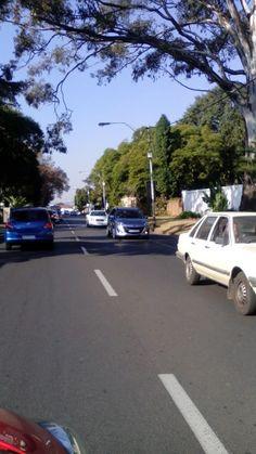 Traffic in Johannesburg