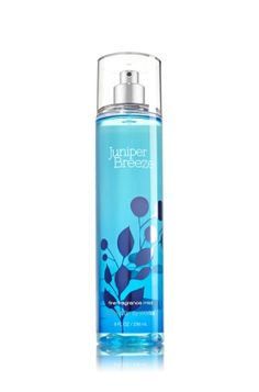 Juniper Breeze - Fine Fragrance Mist - Signature Collection - Bath & Body Works - Lavishly splash or lightly spritz your favorite fragrance, either way you'll fall in love at first mist! Our carefully crafted bottle and sophisticated pump delivers great coverage while conditioning aloe mist nourishes skin for the lightest, most refreshing way to fragrance!