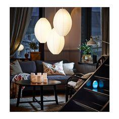 HEMMA Set suspension triple IKEA Vous pouvez créer votre propre solution d'éclairage en accrochant trois suspensions à la même prise de plafond.
