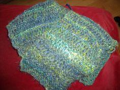 Echarpe 70% mohair 30% angora filée et tricotée main : Echarpe, foulard, cravate par angauvergne-laine-angora
