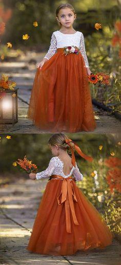 Woods Wedding Ideas, Fall Wedding Inspiration, Autumn Wedding Ideas, Fall Wedding Decorations, Wedding In The Woods, Wedding Flower Girls, Fall Flower Girl, Orange Wedding Flowers, Fall Flowers