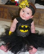 DIY Bat-Girl Costume for Babies for Brystol and a Spider-Man For Bella!!!