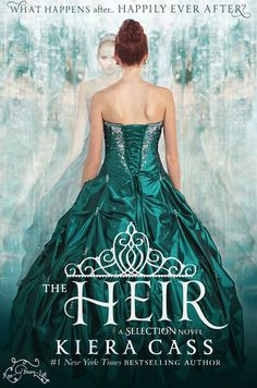 The Heir by Kiera Cass. Twenty years ago, America Singer entered the Selection and won Prince Maxon's heart. Now the time has come for Princess Eadlyn to hold a Selection of her own. Eadlyn doesn't expect her Selection to be anything like her parents' fairy-tale love story...but as the competition begins, she may discover that finding her own happily ever after isn't as impossible as she's always thought
