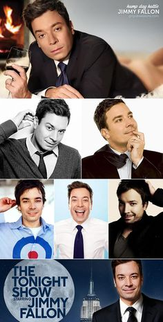 Hump Day Hottie: Jimmy Fallon. Funny guys are sexy as hell! #writinginspiration