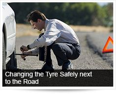 Arrive Alive South Africa | Changing the Tyre Safely next to the Road