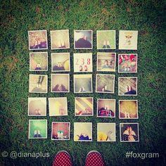 "3x3"" #instagramprints www.foxgram.com #foxgram"