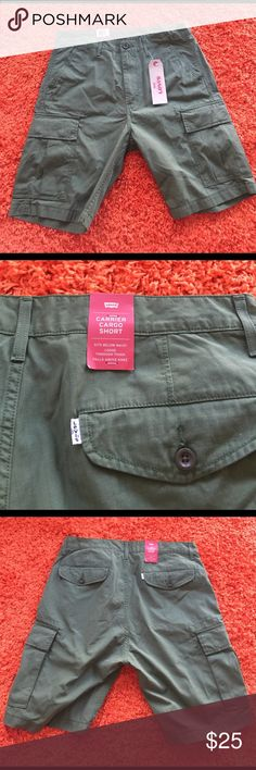 Levi's Carrier Cargo Shorts Levi's Carrier Cargo Shorts. Brand New, All tags still attached! Levi's Shorts Cargo