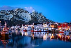 Henningsvær the Venice of the Lofoten__Norway by Marco Carmassi on 500px