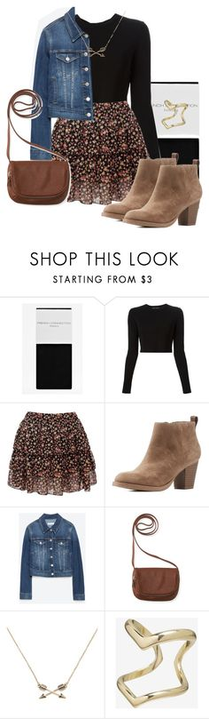 """Allison Argent Outfit"" by zoetozier on Polyvore featuring French Connection, Proenza Schouler, Charlotte Russe, Zara, Aéropostale, Forever 21 and Express"