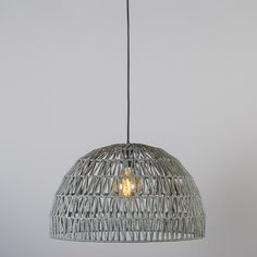Hanglamp Papella 2 grijs