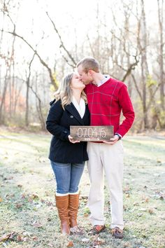 Ally King Photography | Lauren and Jeffrey | Lynchburg, Virginia | Save the Date | DIY | July 4th