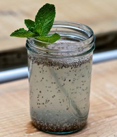 chia seed drink!  Oy!