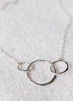 Simple, beautiful.  From Noonday Collection