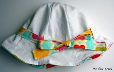 B do you think baby b will keep this on her head? If so, I'd love to make one for her:)