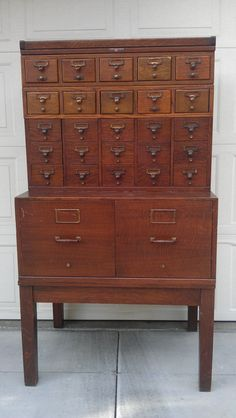 Incredibly Handsome Antique Apothecary Chest by Newtoyoudecor, $2699.00