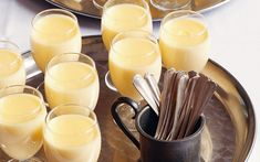 Margot Henderson's easy lemon possets, a fantastically simple but sumptuous pud.