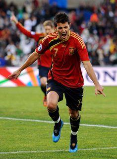 ~ David Villa has joined Atletico Madrid ~