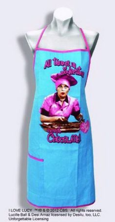 """All things in moderation except Chocolate"" Apron"