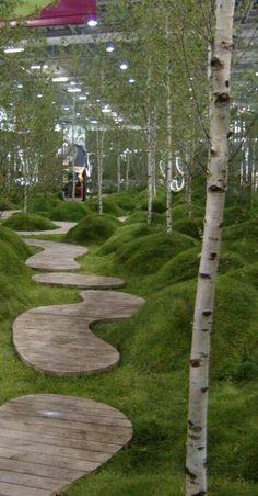 Diarmuid Gavin show garden