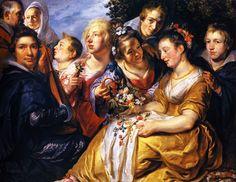 Jacob Jordaens, the-artist-with-the-family-of-his-father-in-law-adam-van-noort.jpg 2,576×1,988 pixels