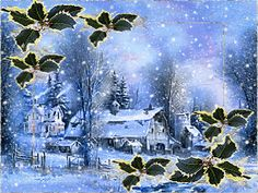 Les Gifs, New Year Celebration, Winter Scenes, Winter Snow, Christmas And New Year, Animated Gif, Animation, Fantasy, Blog