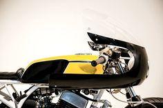 STROKE OF LUCK. Enginethusiast's Trophy Winning Yamaha RD400 Racer - Pipeburn.com