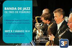 "La Banda de Jazz tocará ""Ritmos de América"""