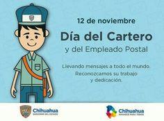 Feliz día del cartero!   #javiercorral #chihuahuamx #amaneceparatodos #gobiernotransversal #gobiernodechihuahua #noticia #news #cuu