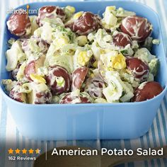 Five-star American Potato Salad, as seen in the August issue of Allrecipes magazine.