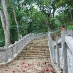 Pagode des Parfums - route vers la pagode principale Vietnam, Destinations, Garden Bridge, Outdoor Structures, Travel Destinations