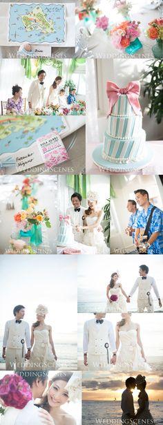 Wedding Cake 〜4月編〜 の画像|ハワイウェディングプランナーNAOKOの欧米スタイル結婚式ブログ