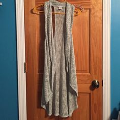 Sleeveless Cardigan Sleeveless sweater Cardigan. In excellent, like New condition. Worn once. Size XL. Sweaters Cardigans