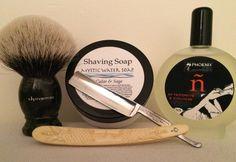 #SOTD @mysticwatersoap Cedar & Sage, @shavemac_en 30 mm custom 2 Band, Torrey straight, @Phoenix_Shaving AS