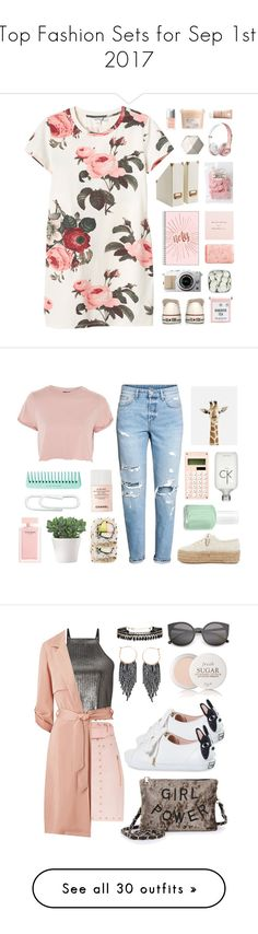 """Top Fashion Sets for Sep 1st, 2017"" by polyvore ❤ liked on Polyvore featuring Monki, Davines, Christian Dior, Pré de Provence, Converse, La Roche-Posay, Topshop, H&M, Superga and Narciso Rodriguez"