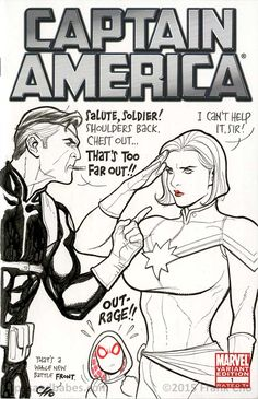 Frank Cho has exhausted Power Girl and She-Hulk for his sketch covers it seems. Which means it's time for Captain Marvel to enjoy his very particular form Anime Meme, Comic Anime, Anime Comics, Frank Cho, Comic Book Artists, Comic Artist, Comic Books Art, Marvel Dc, Captain Marvel